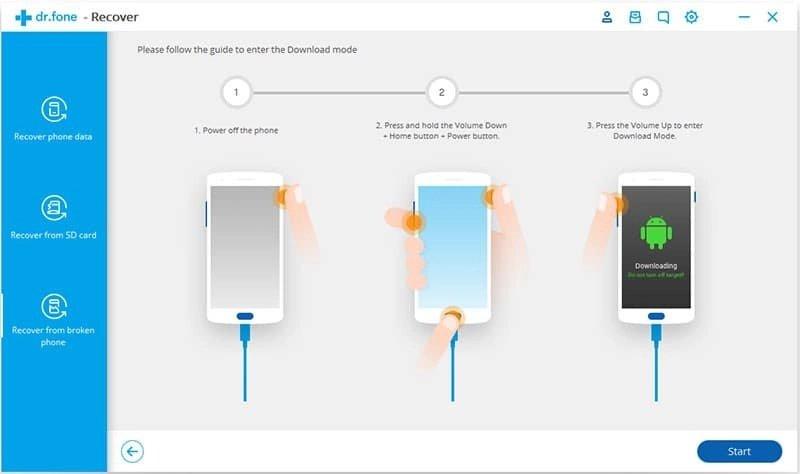 Android Dati Recupero Passo 17